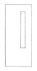 7 by 56 lite wood or steel door